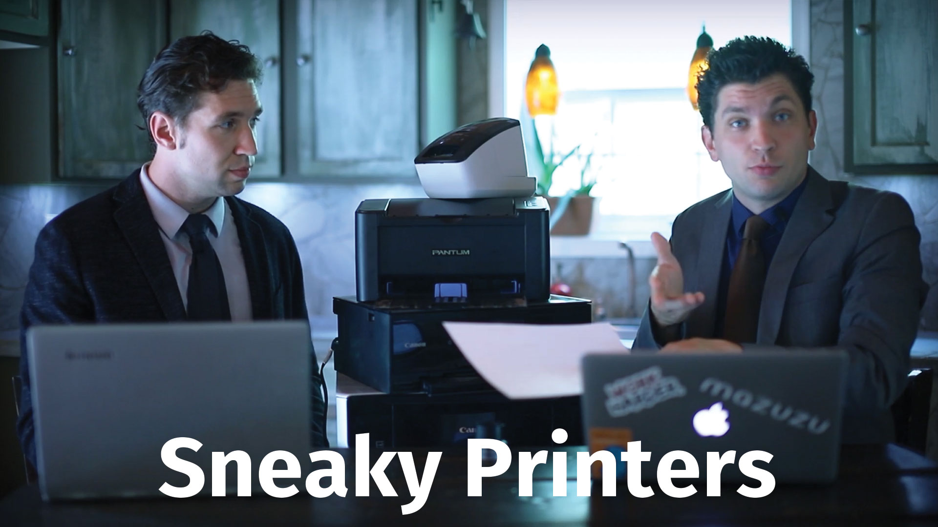 Watch Your printed documents have fingerprints - Machine Identification Code (MIC) on Youtube