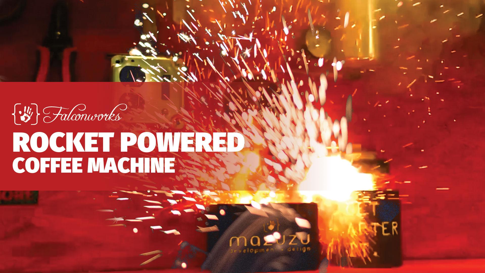 Watch Rocket Powered Coffee Machine - Mazuzu Absurd Contraptions on Youtube